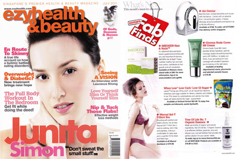 Ezyhealth & Beauty, July 2011, What's New Editor's Fab Finds, Page 10